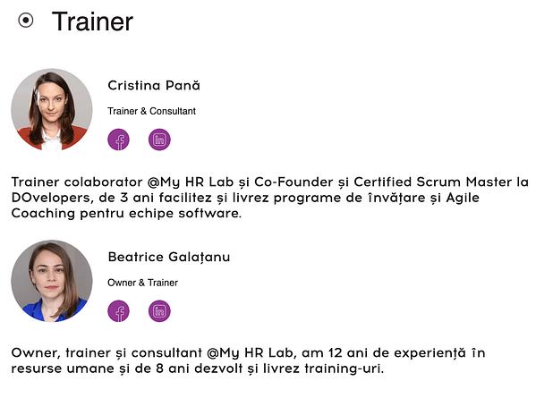 Agile in HR Trainer